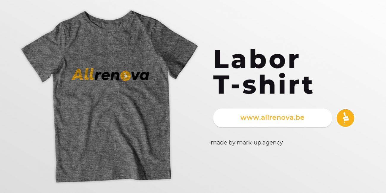 labor t-shirt allrenova