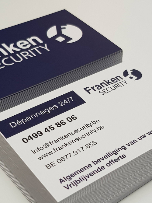 business card franken security