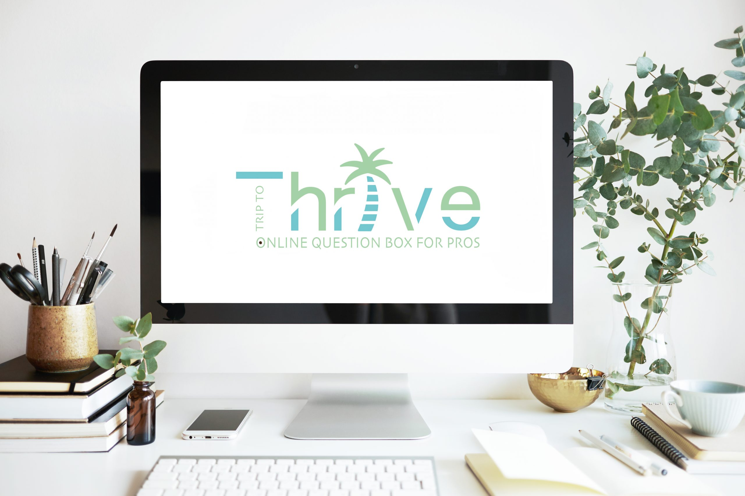 logodesign trip to thrive